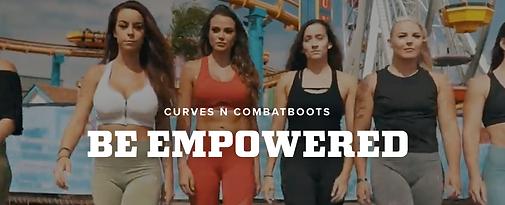 Curves N Combat Boots