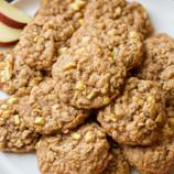 Chewy Oatmeal & Apple Cookies