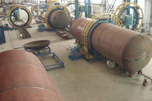 Manufacturing Line for the Assembly and Welding of tanks