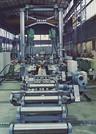 Beam welding machine, capable of handling tapered webs
