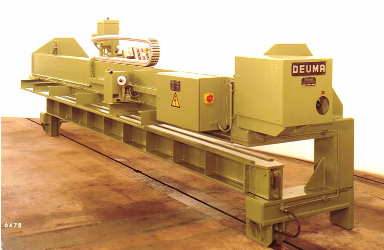 Panel milling machine, in swivelling design which can also be used for weld edge preparations Image 9 of 10