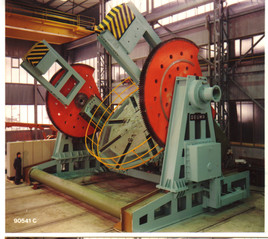 Complete system Cradle Type Positioner, 250 ton capacity with column & boom (manipulator)