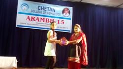 Arambh - 2015 Prize Distribution