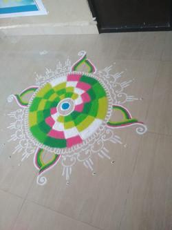 Rangoli Competition 2020