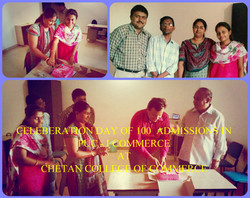100 Admissions Celeberation