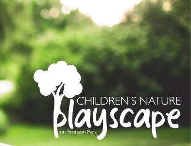 Children's Nature Playscape on Bronson Park