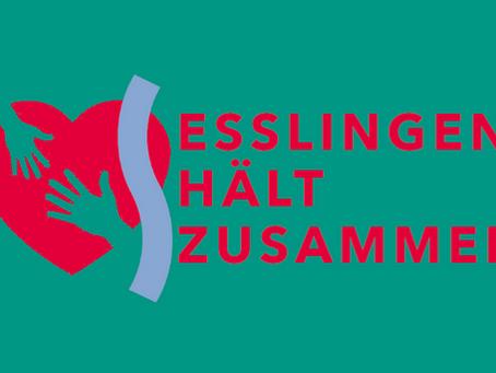 """""""Esslingen hält zusammen"""" in der  Corona-Krise"""