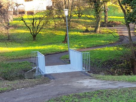 Update: Kennenburg hat eine neue Brücke!