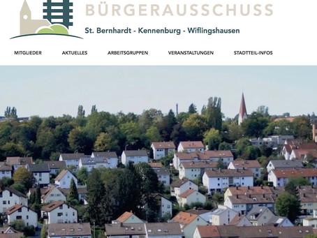 Jahresrückblick 2020 - 50 Jahre Bürgerausschuss St. Bernhardt-Kennenburg-Wiflingshausen