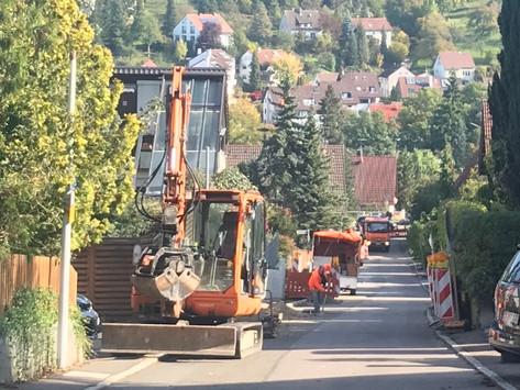 Keine Straßenbeleuchtung für St.Bernhardt ab Montag 18.10.21