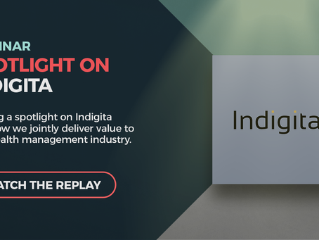 Shining a spotlight on Indigita at Wealth Dynamix's webinar