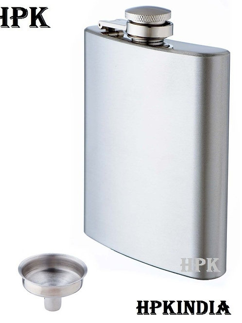HIP FLASK WITH FUNNEL