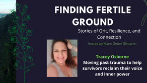Tracey Osborne: Moving past trauma to help survivors reclaim their voice and inner power