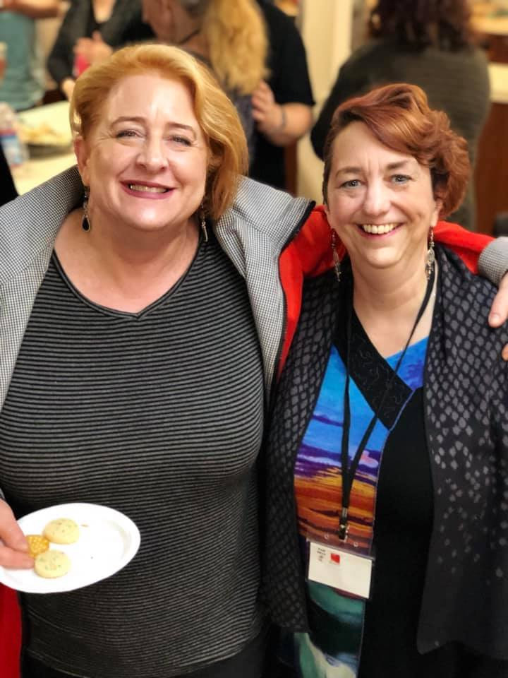 Sopranos, preemie moms, resilient women: Leslie Batchelder and Marie Gettel-Gilmartin at Rock Voices
