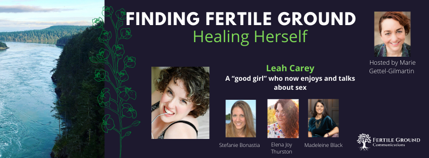 Leah Carey on Finding Fertile Ground Podcast