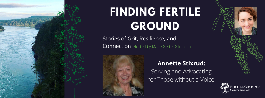 Serving and Advocating for Those Without a Voice: Annette Stixrud