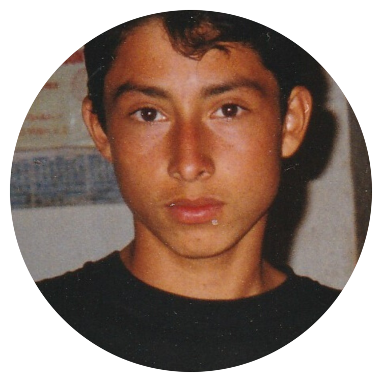 Miguel as a young person