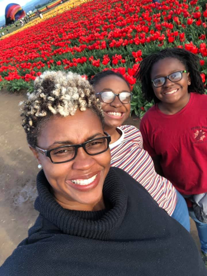 Libra Forde with two of her daughters | Finding Fertile Ground Podcast