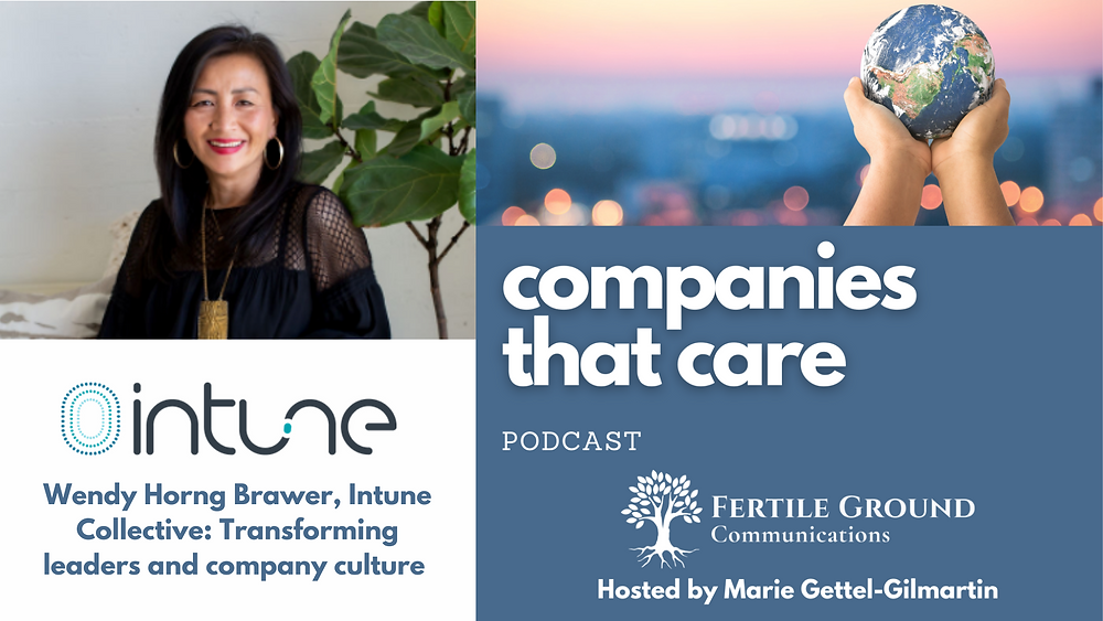 Wendy Horng Brawer on the Companies That Care podcast