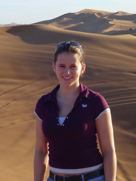 Cindy in Abu Dhabi