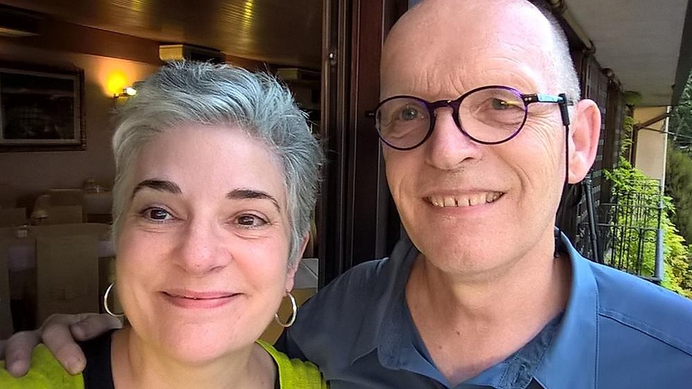 Chuck Bergman and Susan Mann