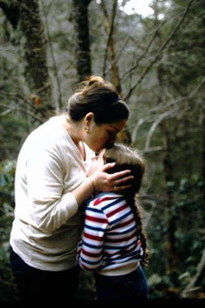 Leah and Mom