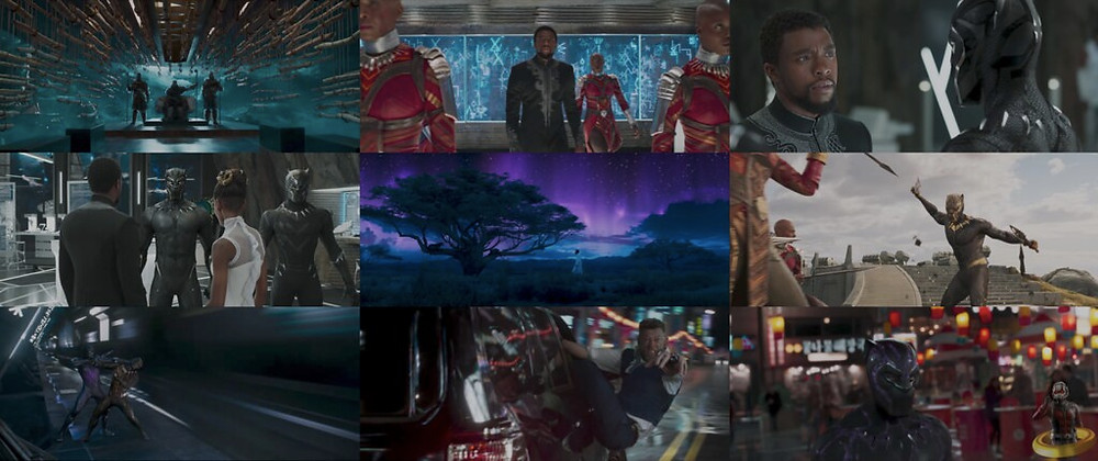 Images from Black Panther movie