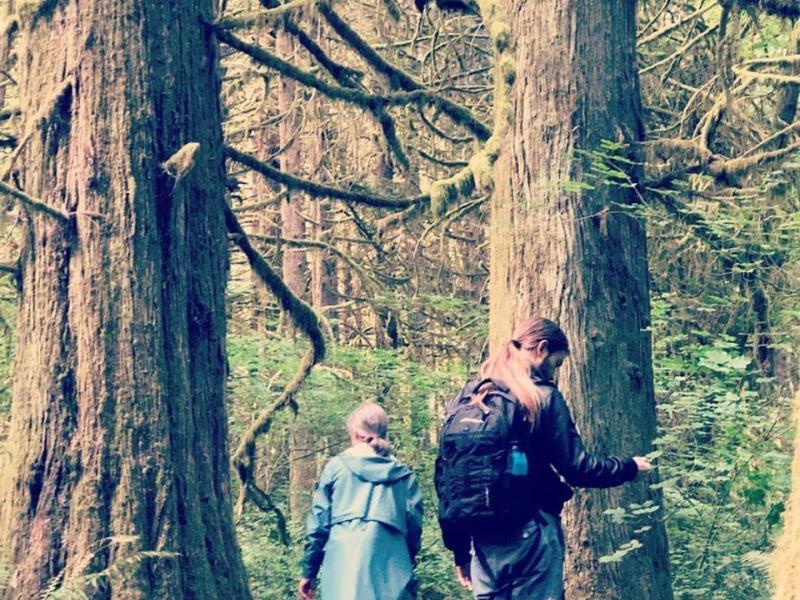 Katrina forest bathing, Finding Fertile Ground Podcast