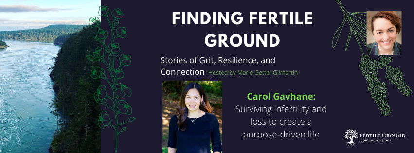 Carol Gavhane: Surviving infertility and loss to create a purpose-driven life
