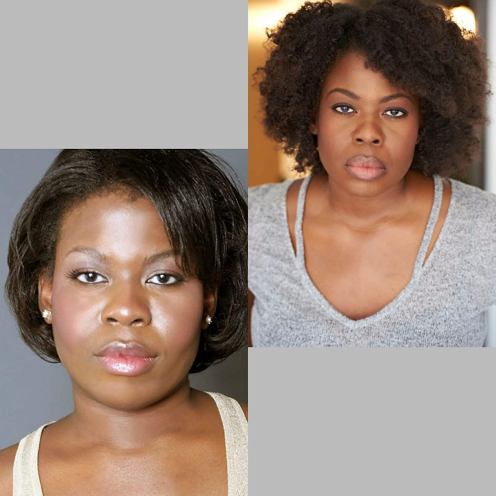 Nono Osuji becoming herself: her first headshot, and her most     recent, au natural
