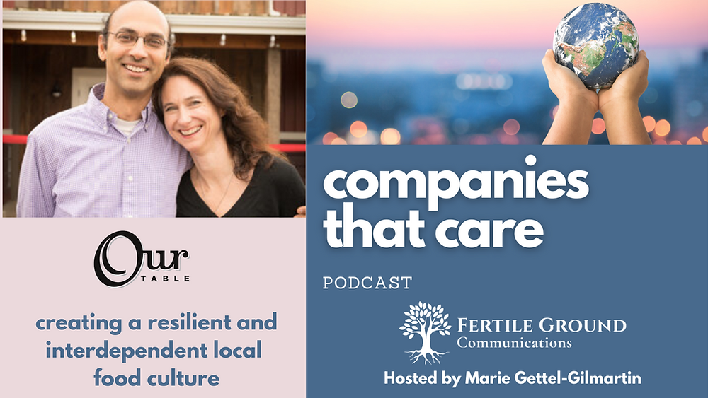 Narendra Varma from Our Table Cooperative on the Companies That Care Podcast