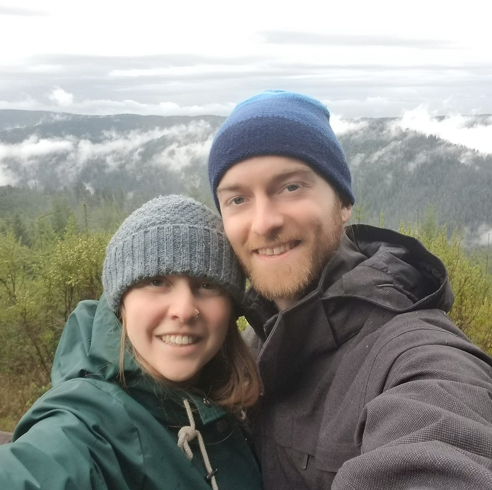 Katrina and her partner, Finding Fertile Ground Podcast