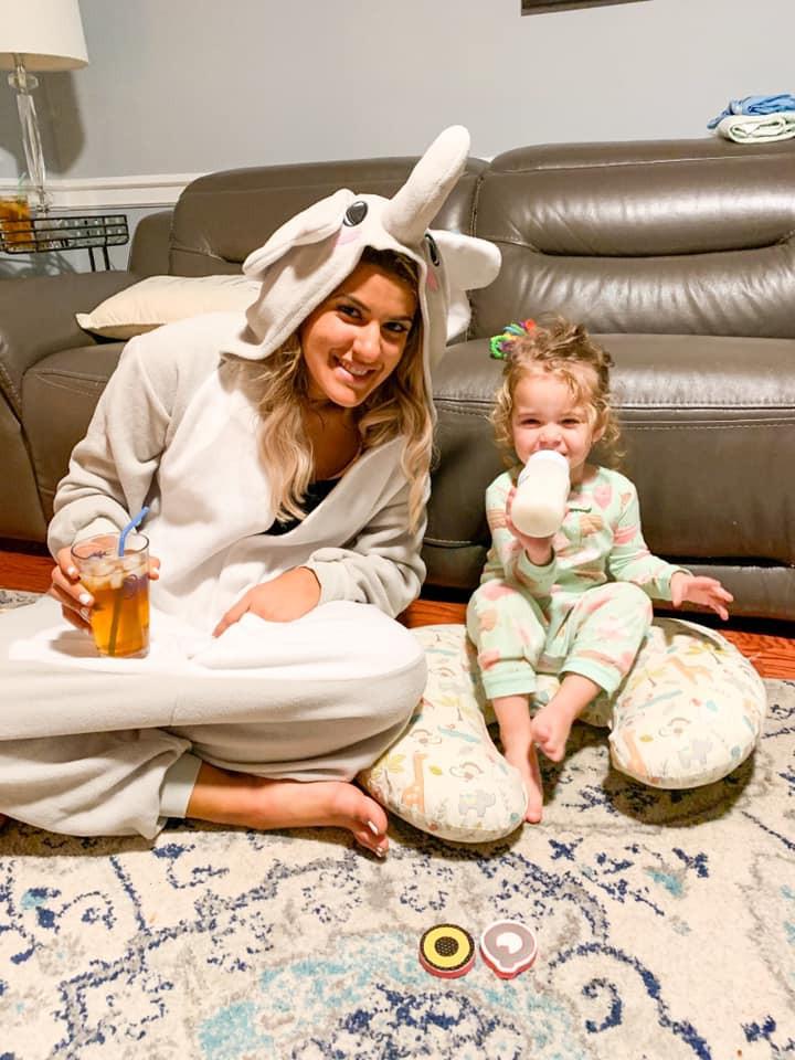 Brigitte and her niece