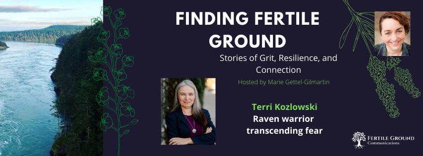 Terri Kozlowski: From sexual abuse and abandonment to raven warrior transcending fear