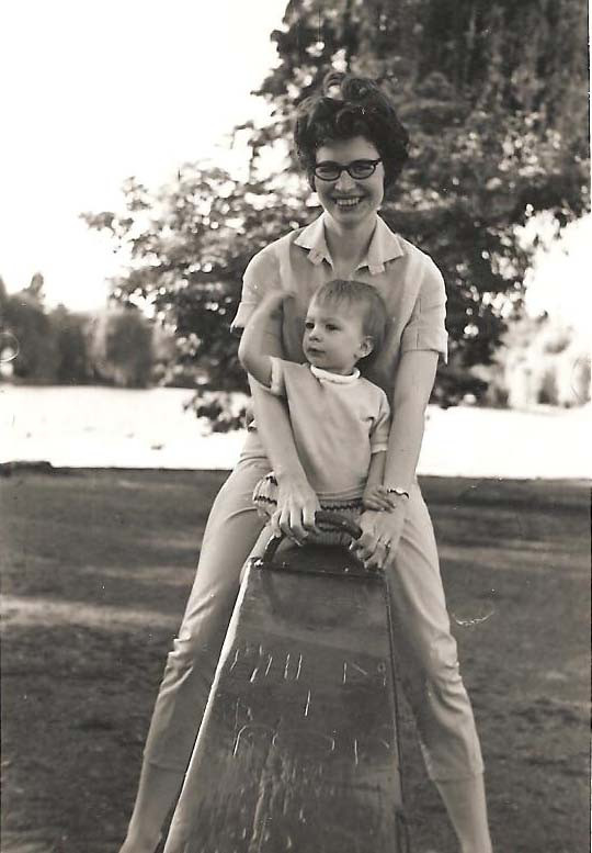 Marie Gettel-Gilmartin and her mom