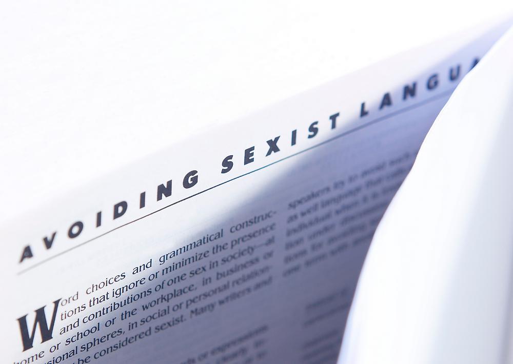 Avoiding sexist language article