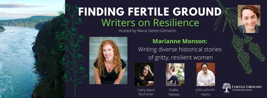 Marianne Monson: Writing diverse historical stories of gritty, resilient women