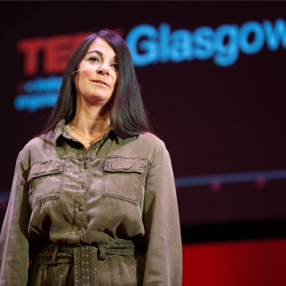 Sharing her story at TEDx