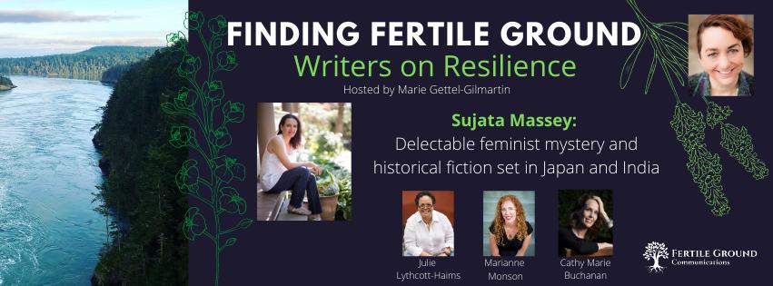 Sujata Massey, Writers on Resilience