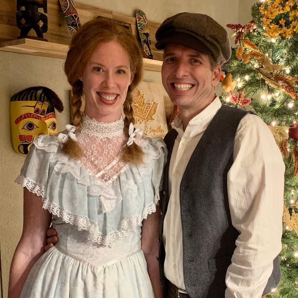 Marianne and her husband