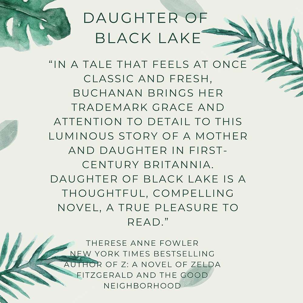 Therese Ann Fowler on Daughter of Black Lake