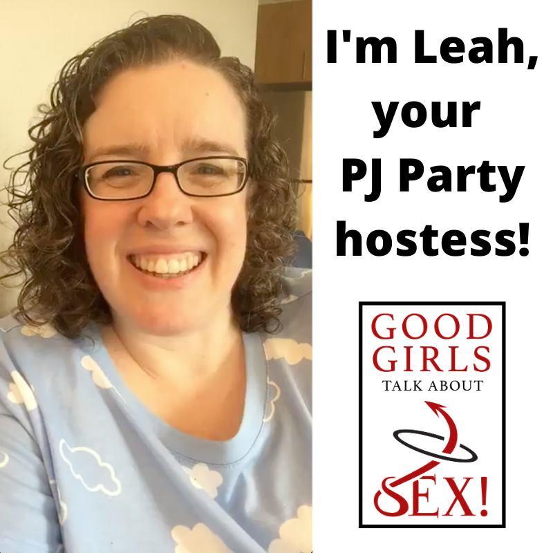 PJ party hostess Leah