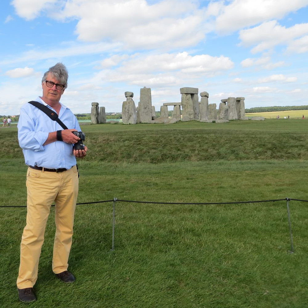 Cathy's archaeologist guide, Willie Rowbotham