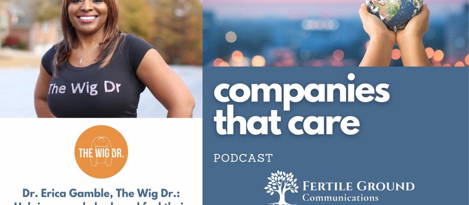 Dr. Erica Gamble, The Wig Dr.: Helping people look and feel their best at a tough time in their l
