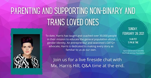 Parenting and Supporting Non-Binary and Trans Loved Ones