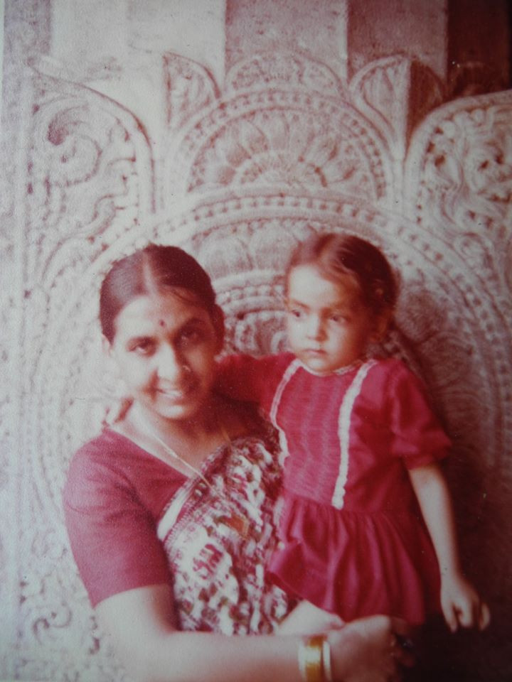 Daivati and her mother