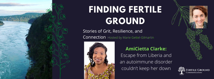 AmiCietta Clarke on the Finding Fertile Ground Podcast