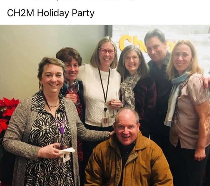 CH2M holiday party