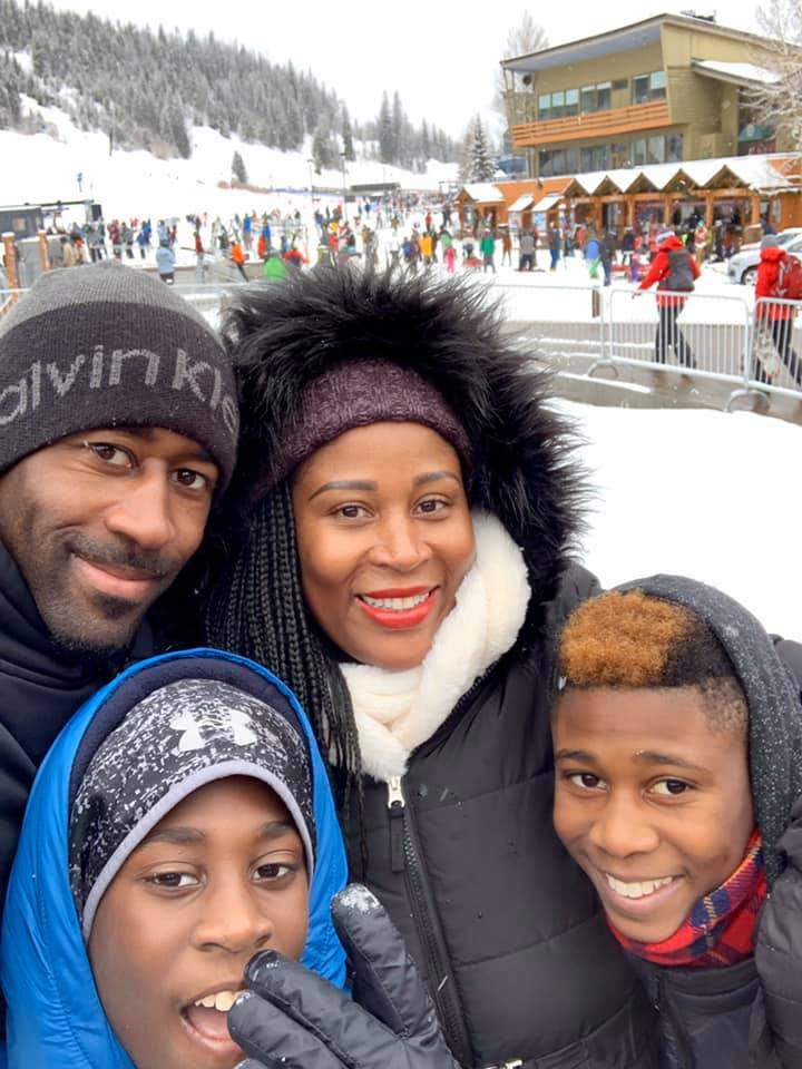 Charles Jackson II with his family (Finding Fertile Ground Podcast)