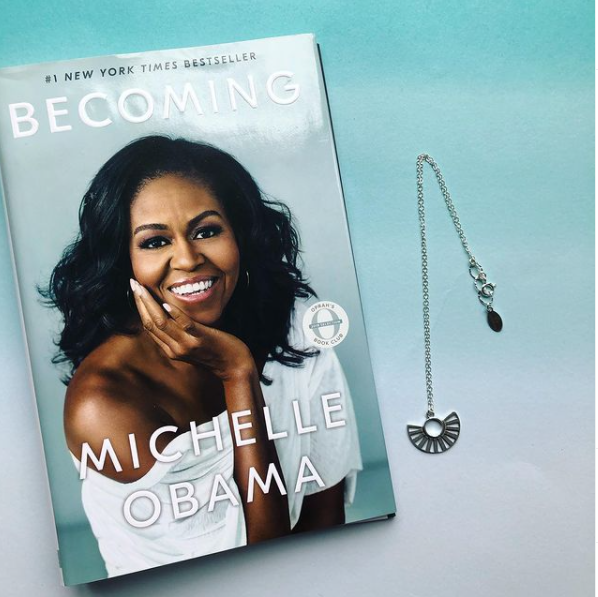"Asha Blooms' necklace ""Becoming"""